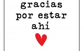 Gracias ❤️